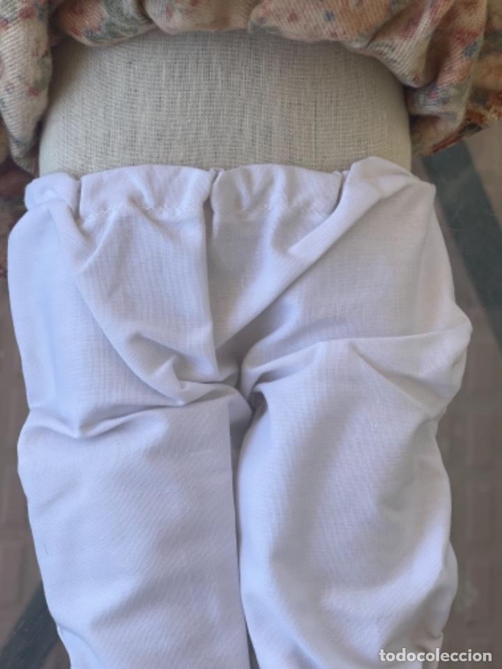 Muñecas Españolas Modernas: Antigua muñeca de trapo 59 Cm polo los artesana ver fotos - Foto 4 - 263691250