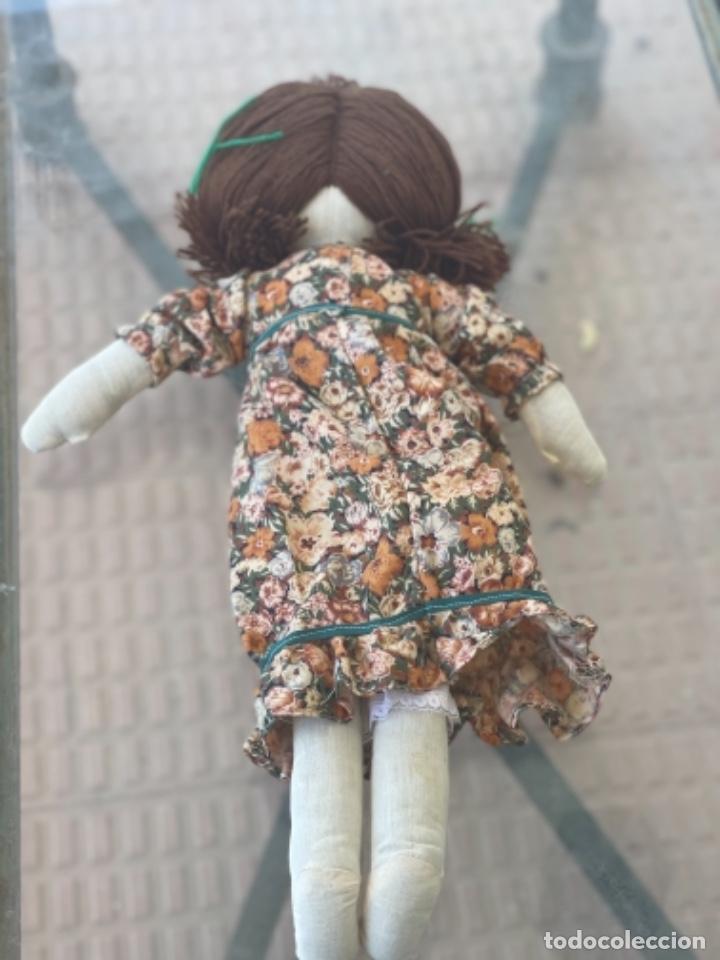 Muñecas Españolas Modernas: Antigua muñeca de trapo 59 Cm polo los artesana ver fotos - Foto 7 - 263691250
