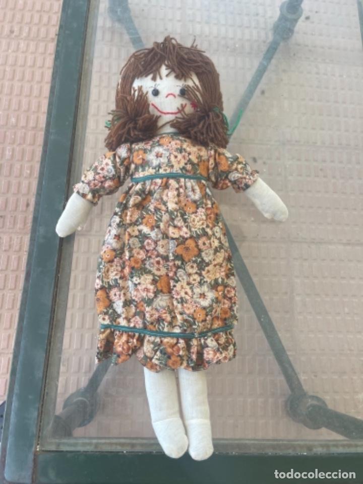 Muñecas Españolas Modernas: Antigua muñeca de trapo 59 Cm polo los artesana ver fotos - Foto 12 - 263691250