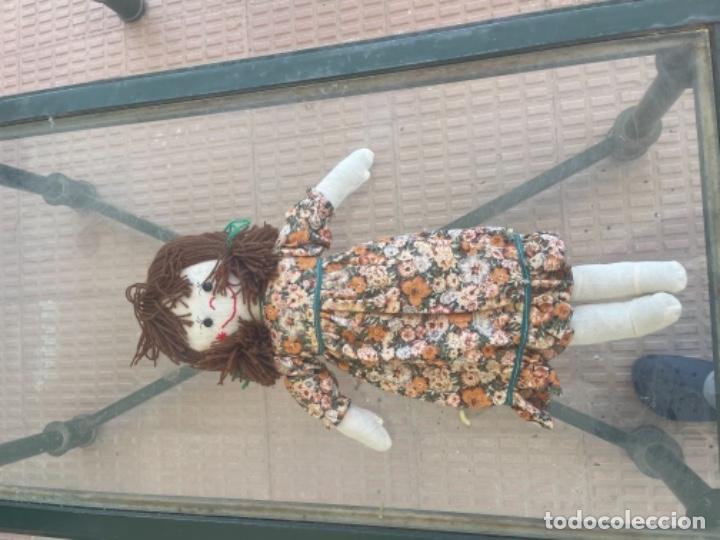 Muñecas Españolas Modernas: Antigua muñeca de trapo 59 Cm polo los artesana ver fotos - Foto 13 - 263691250