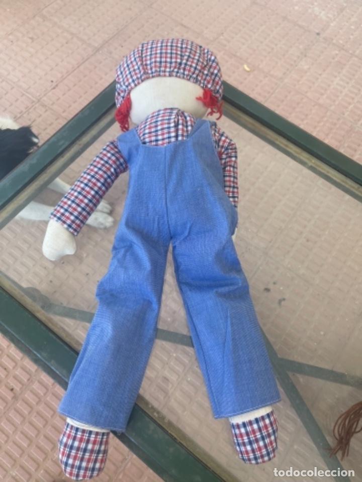 Muñecas Españolas Modernas: Antigua muñeca de trapo excelente estado 72 Cm ver fotos - Foto 6 - 263691700