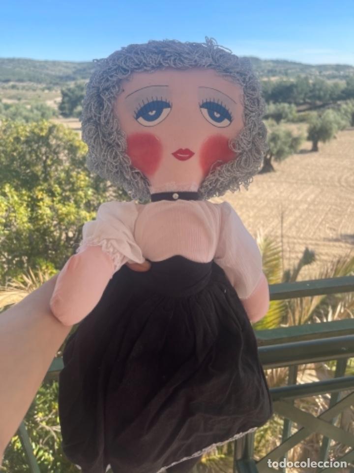Muñecas Españolas Modernas: Muñeca estilo art Deco años 20 pelo plata ver fotos muñeca blanda cabaret - Foto 4 - 264042795