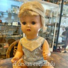 Muñecas Españolas Modernas: ANTIGUO MUÑECO LUISITO. ICSA. AÑOS 1960S. VER FOTOS. Lote 268827099