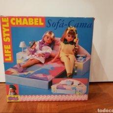 Muñecas Españolas Modernas: SOFÁ CAMA CHABEL. Lote 268887424