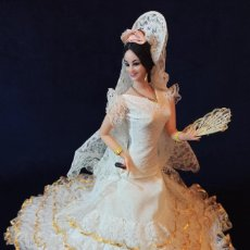 Muñecas Españolas Modernas: MUÑECA DE MARIN DE 48 CM COMO NUEVA. Lote 285520728