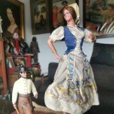 Bambole Spagnole Moderne: MUÑECA GRANDE DE MARÍN. TRAJE REGIONAL TALAVERA. ORIGINAL AÑOS 60-70.LEER BIEN EL ANUNCIO. Lote 286716933