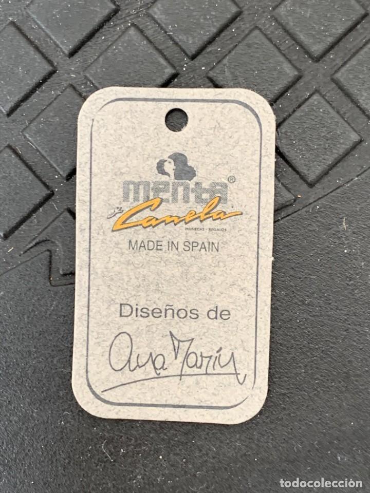 Muñecas Españolas Modernas: MUÑECA PORCELANA SIN USO MENTA Y CANELA CHARITO REF 5363 DISEÑO ANA MARIN 28X13X13CMS - Foto 3 - 287555863