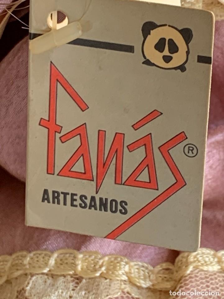 Muñecas Españolas Modernas: MUÑECA PORCELANA MARCA FANAS ARTESANOS PINTADA MANO 29X12X6CMS - Foto 7 - 287684118