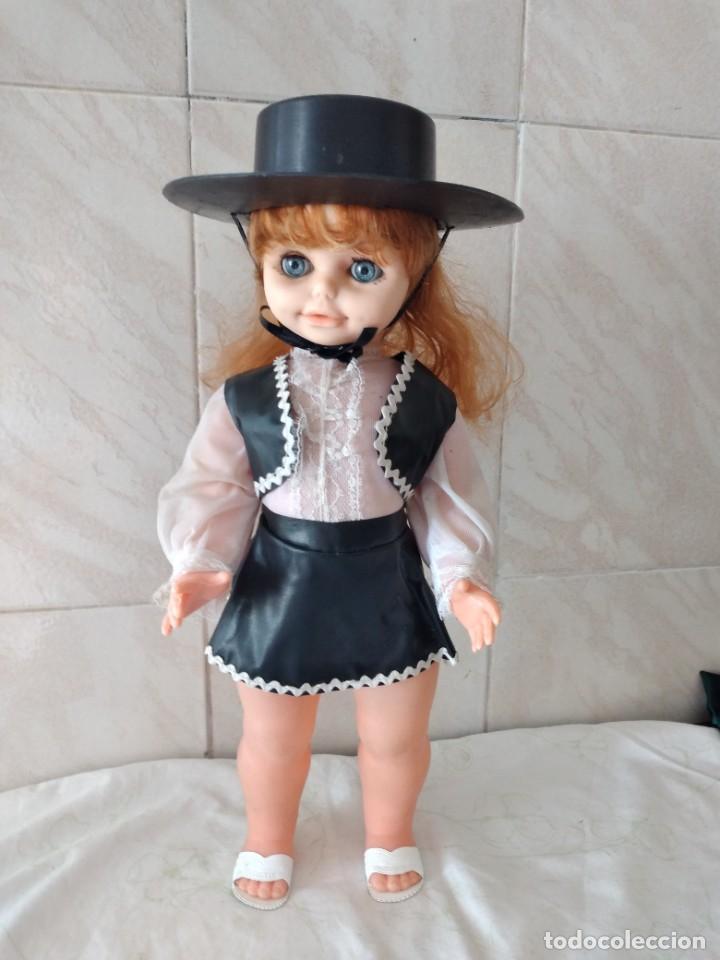 Muñecas Españolas Modernas: Preciosa muñeca cordobesa, pelirroja ojos durmientes. años 70 - Foto 2 - 288602968