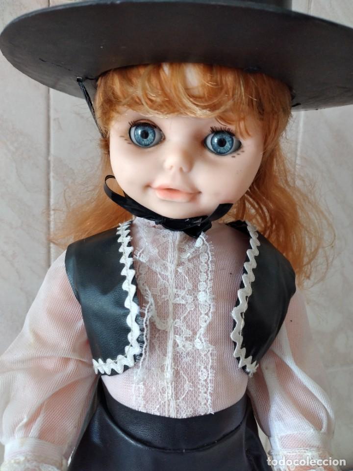 Muñecas Españolas Modernas: Preciosa muñeca cordobesa, pelirroja ojos durmientes. años 70 - Foto 3 - 288602968