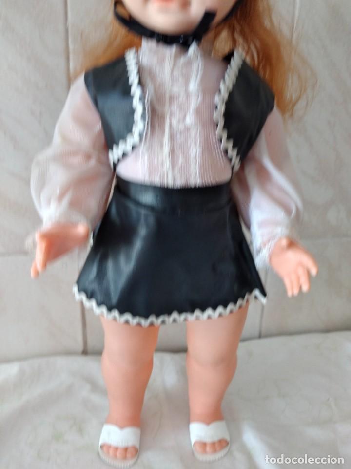 Muñecas Españolas Modernas: Preciosa muñeca cordobesa, pelirroja ojos durmientes. años 70 - Foto 4 - 288602968
