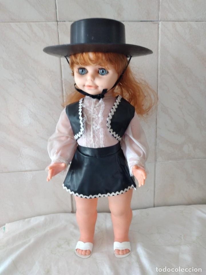 Muñecas Españolas Modernas: Preciosa muñeca cordobesa, pelirroja ojos durmientes. años 70 - Foto 6 - 288602968