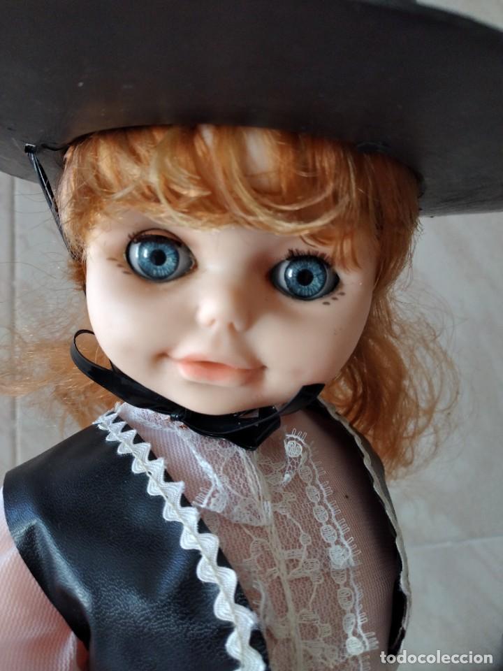 Muñecas Españolas Modernas: Preciosa muñeca cordobesa, pelirroja ojos durmientes. años 70 - Foto 12 - 288602968