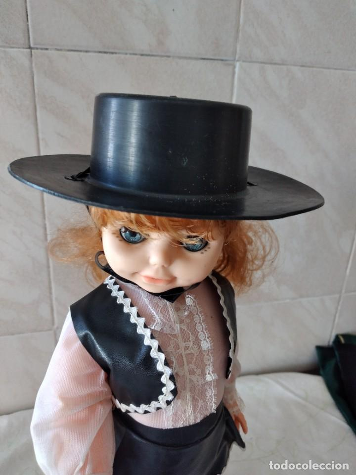 Muñecas Españolas Modernas: Preciosa muñeca cordobesa, pelirroja ojos durmientes. años 70 - Foto 13 - 288602968