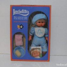 Muñecas Españolas Modernas: MUÑECO LAVADITO, LLORA SI LE LAVAS LA CARA, BB, NUEVO EN CAJA A ESTRENAR. Lote 292295108