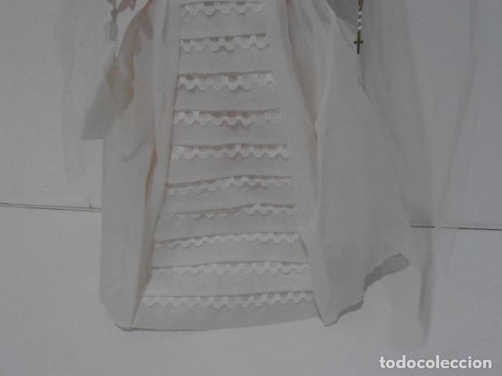 Muñecas Españolas Modernas: MUÑECA ESPANOLA COMUNION, NUEVA SIN USO, AÑOS 70, COMPLETA - Foto 5 - 292304173