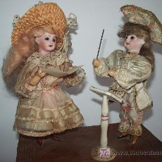 Muñecas Extranjeras: ANTIGUO JUGUETE AUTÓMATA MUSICAL A MANIVELA.. Lote 22980543