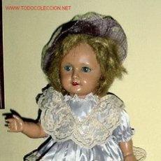 Muñecas Extranjeras: ANTIGUA Y MUY GUAPA MUÑECA FRANCESA AÑOS 40. Lote 26742319