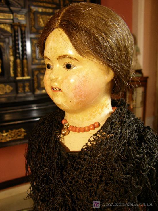 MUÑECA DIGNA DE ESTAR EN UN MUSEO. (Juguetes - Muñeca Extranjera Antigua - Otras Muñecas)
