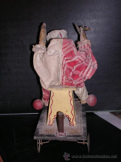 Muñecas Extranjeras: MUÑECA AUTOMATA DE PORCELANA,MADETA Y LATA, DIFERENTES MOVIMIENTOS,(TODO ANTIGUO NO REPLICA) - Foto 5 - 27431800