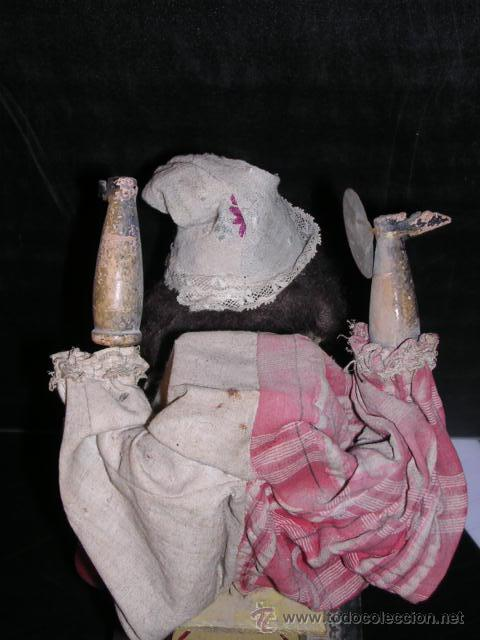 Muñecas Extranjeras: MUÑECA AUTOMATA DE PORCELANA,MADETA Y LATA, DIFERENTES MOVIMIENTOS,(TODO ANTIGUO NO REPLICA) - Foto 6 - 27431800