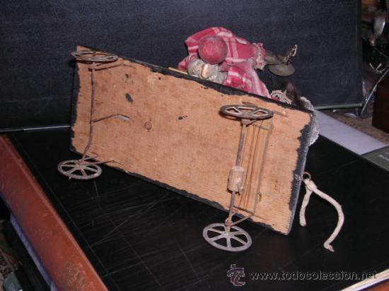 Muñecas Extranjeras: MUÑECA AUTOMATA DE PORCELANA,MADETA Y LATA, DIFERENTES MOVIMIENTOS,(TODO ANTIGUO NO REPLICA) - Foto 8 - 27431800