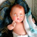 Muñecas Extranjeras: MUÑECA ANTIGUA BEBÉ DE COMPOSICIÓN. Lote 26023754