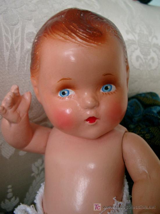 Muñecas Extranjeras: Muñeca antigua bebé de composición - Foto 7 - 26023754