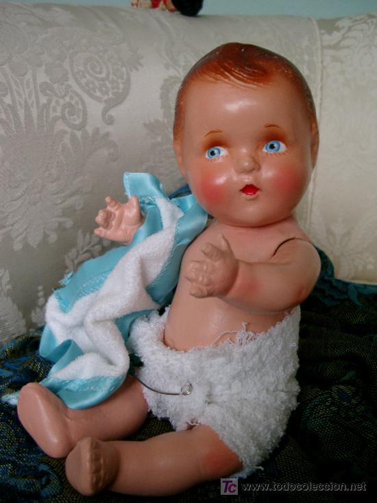 Muñecas Extranjeras: Muñeca antigua bebé de composición - Foto 13 - 26023754