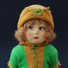 Muñecas Extranjeras: AUTÉNTICA LENCI - LENCY - ITALIANA - ROBIN HOOD - AÑOS 1920. Lote 26783332