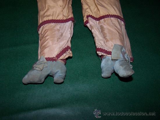 Muñecas Extranjeras: ANTIQUE DOLL - MUÑECA ANTIGUA DE TELA - Foto 6 - 22067436