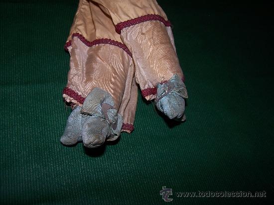 Muñecas Extranjeras: ANTIQUE DOLL - MUÑECA ANTIGUA DE TELA - Foto 9 - 22067436
