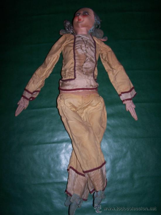 Muñecas Extranjeras: ANTIQUE DOLL - MUÑECA ANTIGUA DE TELA - Foto 4 - 22067436
