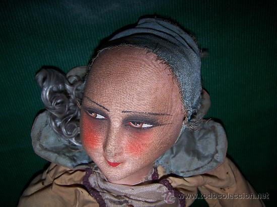 Muñecas Extranjeras: ANTIQUE DOLL - MUÑECA ANTIGUA DE TELA - Foto 12 - 22067436
