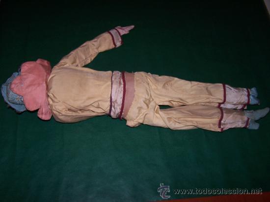 Muñecas Extranjeras: ANTIQUE DOLL - MUÑECA ANTIGUA DE TELA - Foto 10 - 22067436