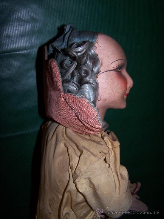 Muñecas Extranjeras: ANTIQUE DOLL - MUÑECA ANTIGUA DE TELA - Foto 2 - 22067436