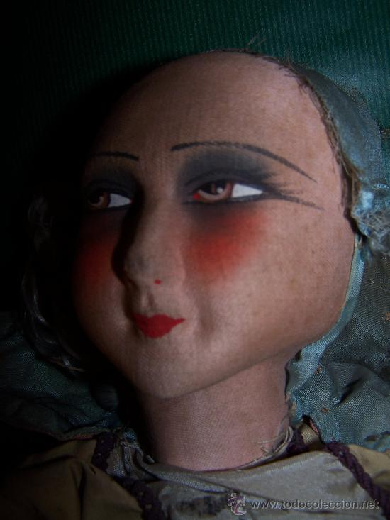 Muñecas Extranjeras: ANTIQUE DOLL - MUÑECA ANTIGUA DE TELA - Foto 5 - 22067436