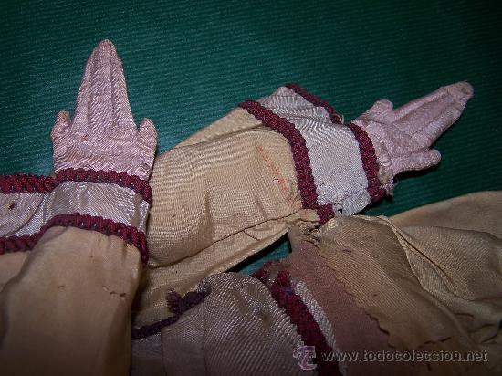 Muñecas Extranjeras: ANTIQUE DOLL - MUÑECA ANTIGUA DE TELA - Foto 3 - 22067436