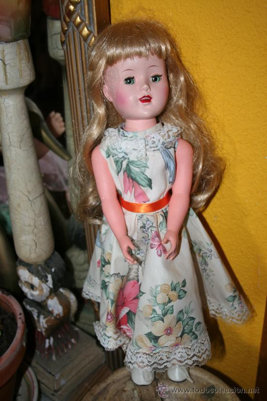 Muñecas Extranjeras: antigua muñeca andadora americana - Foto 2 - 26477191