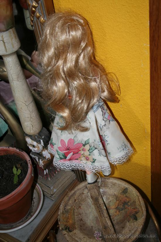 Muñecas Extranjeras: antigua muñeca andadora americana - Foto 3 - 26477191
