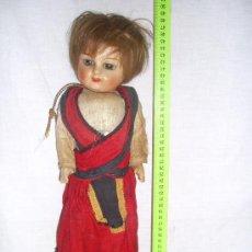 Muñecas Extranjeras: MUÑECA ANTIGUA. HOLANDESA. AÑOS 40 O 50. . Lote 27244534