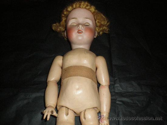 MUNECA ANTIGUA EN PORCELANA (VER MARCAS) (Juguetes - Muñeca Internacional Antigua - Otras Muñecas)