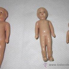 Muñecas Extranjeras: TRES MUÑECOS IRWIN,USA,AÑOS 40 Ó 50. Lote 27799723