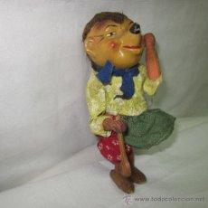 Muñecas Extranjeras: MICKI,NOVIA DE ERIZO MECKI,MADE IN WESTERN GERMANY,MADERA,AUTÓMATA,AÑOS 50. Lote 27881471
