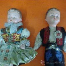 Muñecas Extranjeras: ANTIGUA PAREJA MUÑECOS PAISES EXTRANJEROS. VER DESCRIPCION.. Lote 28100960