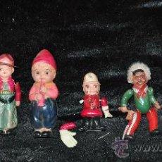 Muñecas Extranjeras: LOTE DE MUÑECOS DE CELULOIDE DE LOS AÑOS 60S. JAPONESES, MARCAS EN ESPALDA. . Lote 29476295