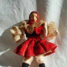 Muñecas Extranjeras: MUÑECA DE TRAPO CON TRAJE REGIONAL AÑOS 50. Lote 29463069