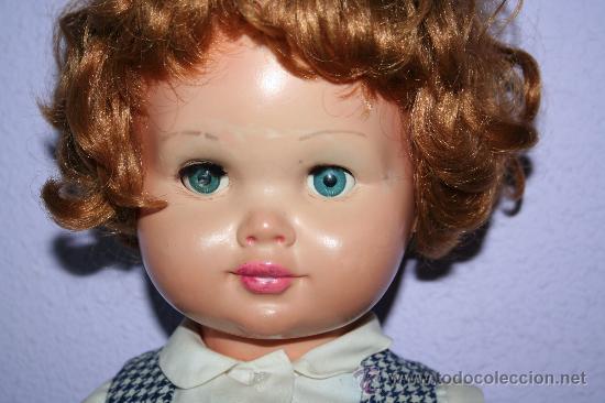 Muñecas Extranjeras: antigua muñeca pelirroja de plastico ojos margarita SE VENDE SIN ZAPATOS - Foto 3 - 30420142