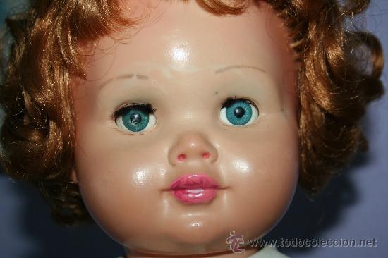Muñecas Extranjeras: antigua muñeca pelirroja de plastico ojos margarita SE VENDE SIN ZAPATOS - Foto 6 - 30420142