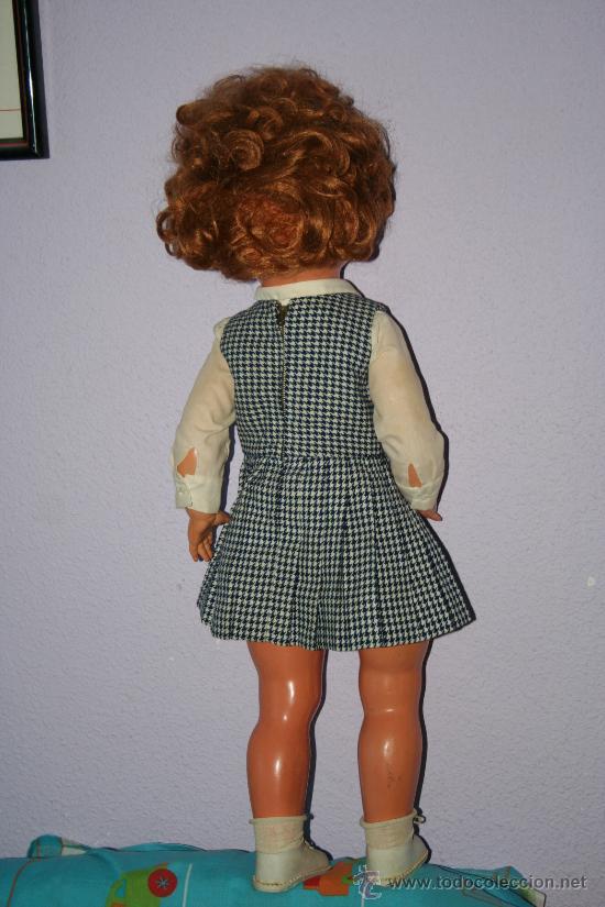 Muñecas Extranjeras: antigua muñeca pelirroja de plastico ojos margarita SE VENDE SIN ZAPATOS - Foto 2 - 30420142